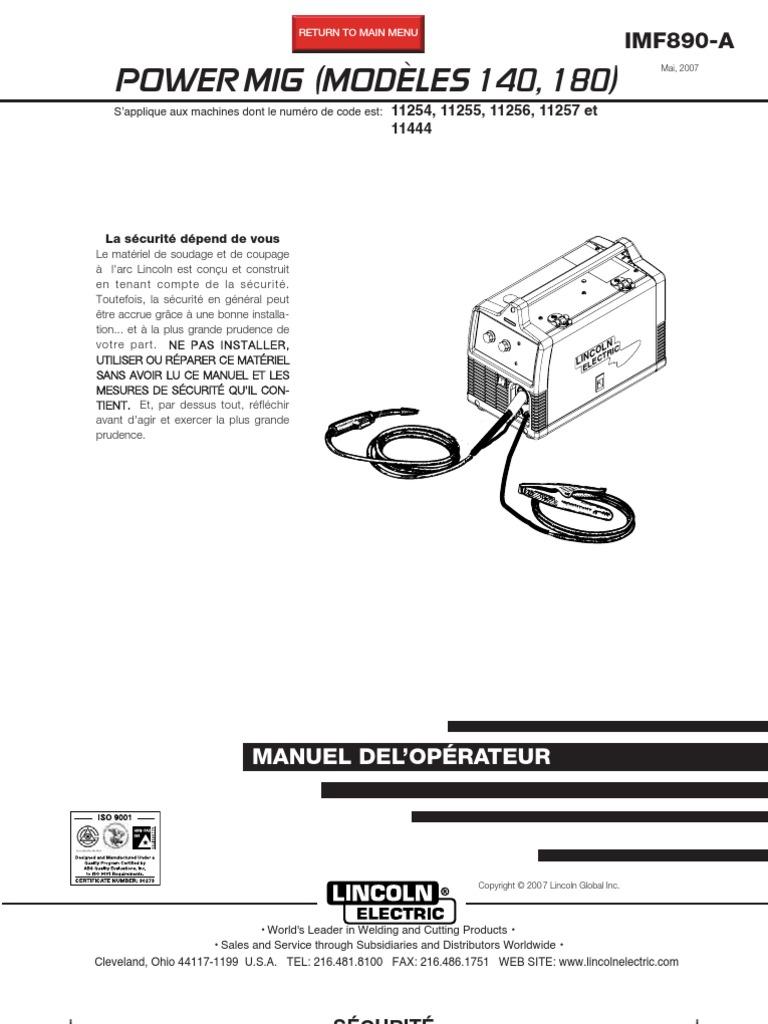 Securité De Soudage Compatibilité électromagnétique