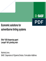 Formulation Additives_Economic Solutions for Solventborne Tinting Systems