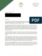 Commutation Letter- William Hoover_Redacted