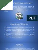 Algoritmo TI Rabin