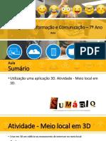 TIC7_Aula- Meio local em 3D.pptx