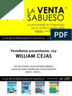 WILLIAM CEJAS - EL SABUESO DE LAS VENTAS