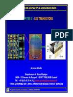 les transistors