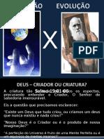 DEUS – CRIADOR OU CRIATURA.ppt