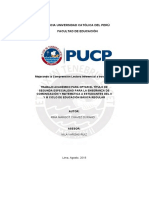 Perú - 2018 - Chavez R 1er