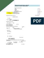 Cálculo Estructural de Captación de Ladera