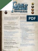 Game of Thrones - Faqs v2