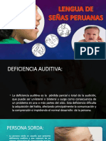 PPT LENGUA DE SEÑAS