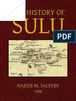 The History of Sulu - Najeeb M. Saleeby