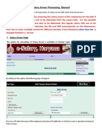 Salary Arrear Manual