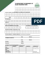 Transfer Form HED