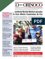 Edición Impresa Correo del Orinoco N° 3.653 Sábado 21 de diciembre de 2019