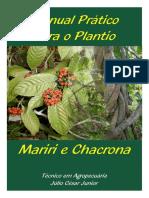 cartilha manual pr+ítico para plantio mariri e chacrona - julio c+®sar j+¦nior