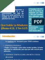QUE HABLE LA MADUREZ.ppt