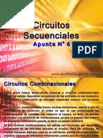 Técnicas Digitales Apunte 6 - Circuitos Secuenciales