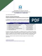 Cronograma exámenes Administración H2M