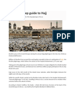 A Step by Step Guide to Hajj