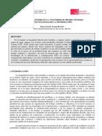 Brecha de género en la universidad, productivismo y tecnologías de la información