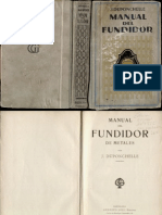 Manual Del Fundidor - Fundicion - Metal Casting Foundry