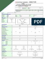 PQR sample printout