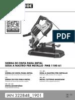 Sierra de cinta para metal 1100 W (LIDLONLINE-322848_ES)