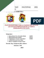 plan de monitoreo de aguas superficiales coata-1