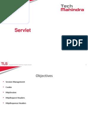 Servlets 3 Pptx Pptx Http Cookie Java Servlet