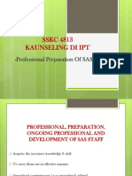 A191- IPT - 8 Profesional Preparation of SAS[1] (1)