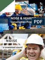 NOISE & HEARING Conservation Program