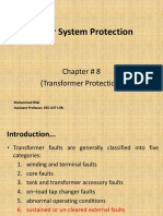 PSP - Slides CH # 8 (Transformer Protection)