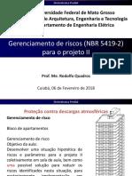 27-Gerenciamento de riscos (NBR 5419-2) para o projeto II