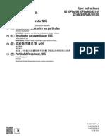 3M N95 Mask Manual