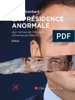 La presidence anormale - Bruno Jeanbart