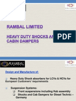 Rambal - HD Shocks & Cabin Dampers