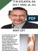 Body Lift in Atlanta, Ga