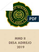 MMD II CATAK ADIREJO.pptx