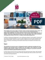 2 - Elements of Interior Design