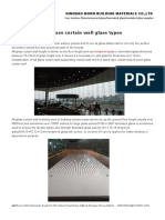 All Glass Curtain Wall Glass Types
