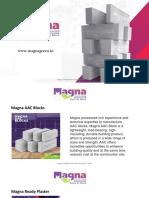 AAC Blocks Manufacturers- Magna