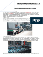Glass Processing-Laminated Glass Processing