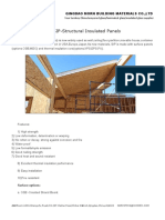 SIP-Structural Insulated Panels
