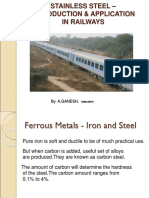 Stainless steel-Introduction & application for artisans