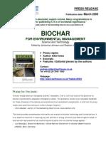 Biochar Press Release