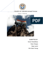 Ethical Issues in the Armed Forces
