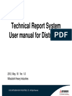 User manual for distributor (Technical Report)ver1.0