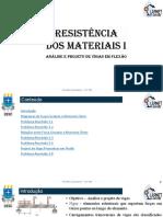 5_0_Resistencia Materiais I CET 946 - Projetos_vigas