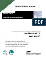 Rapid Mass Movements - Avalanche - Manual
