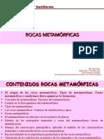 2º Bachillerato Rocas Metamórficas 2018