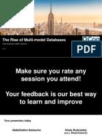 QCon New York 2019 - The Rise of Multi-Model Databases v 1.0.pdf