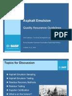 Arlis Kadrmas - Quality Assurance Guidelines